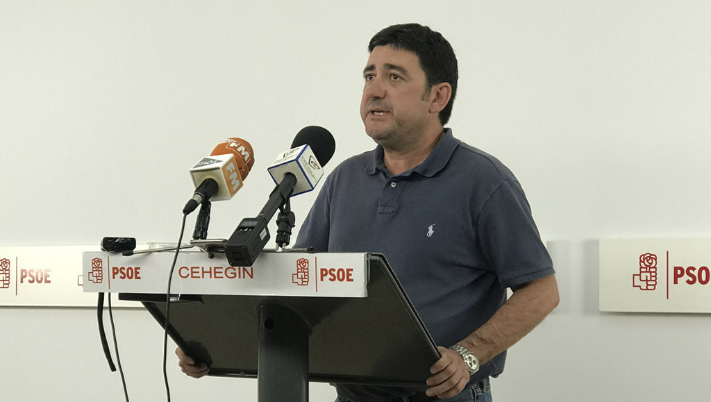 El PSOE de Cehegín presenta una moción a pleno para la reducción en la tasa del servicio de recogida de basura