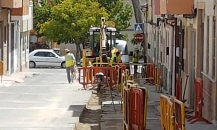 Finalizan la primera fase de las obras de mejora en la red de abastecimiento en Bullas