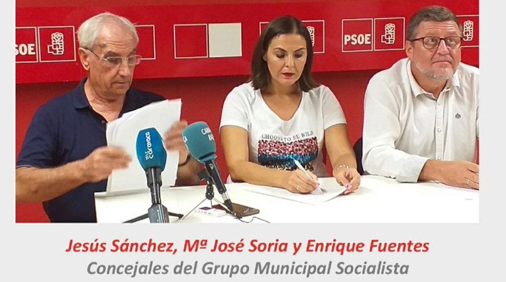 El PSOE propone al Ayuntamiento declarar al municipio de Caravaca de la Cruz en emergencia climática