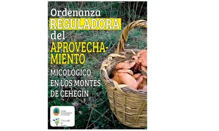 El Ayuntamiento de Cehegín informa sobre la Ordenanza reguladora del aprovechamiento micológico en los montes