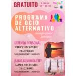 Talleres sobre comunicación y defensa personal abren el programa de Ocio Alternativo para Jóvenes del curso 2019-20