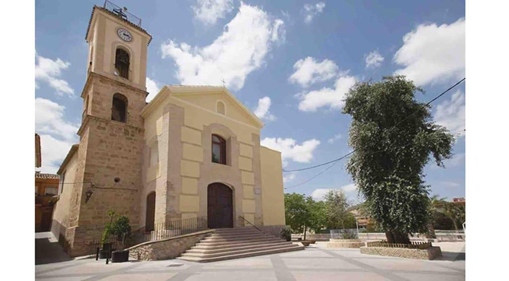 La parroquia de Albudeite podrá visitarse de martes a sábado