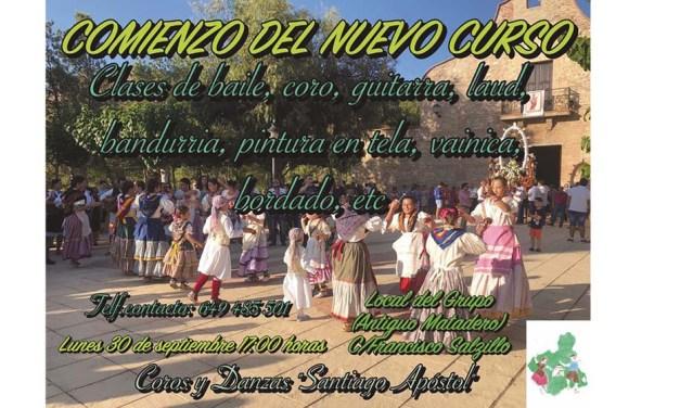 Nuevo curso del Grupo de Coros y Danzas Santiago Apóstol