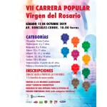 Este sábado se disputa la VII Carera Popular Virgen del Rosario