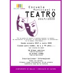 La Escuela Municipal de Teatro de Bullas se pone en marcha