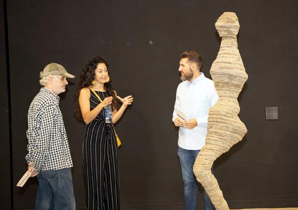 La muestra, abierta al público hasta el 25 de octubre, forma parte del Plan de Espacios Expositivos de la Región de Murcia