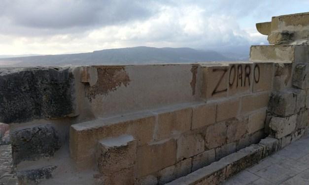 Se realizan obras de emergencia en el castillo de Mula