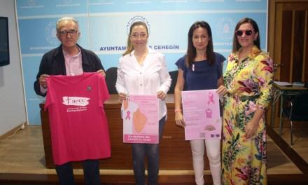 Cehegín conmemorará la semana que viene con varias actividades el Día Mundial Contra el Cáncer de Mama