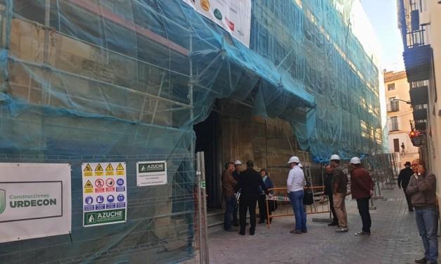 Comienza la segunda fase de las obras de restauración de la parroquia de El Salvador