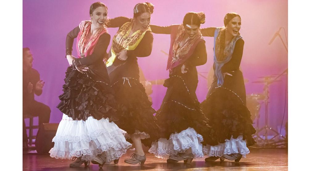 El Ballet Flamenco de Murcia lleva hasta Caravaca el espectáculo 'Lo comío por lo sentío'