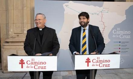 Comunidad y Diócesis de Cartagena colaboran para promover el turismo religioso en la Región de Murcia a través de 'El Camino de la Cruz'