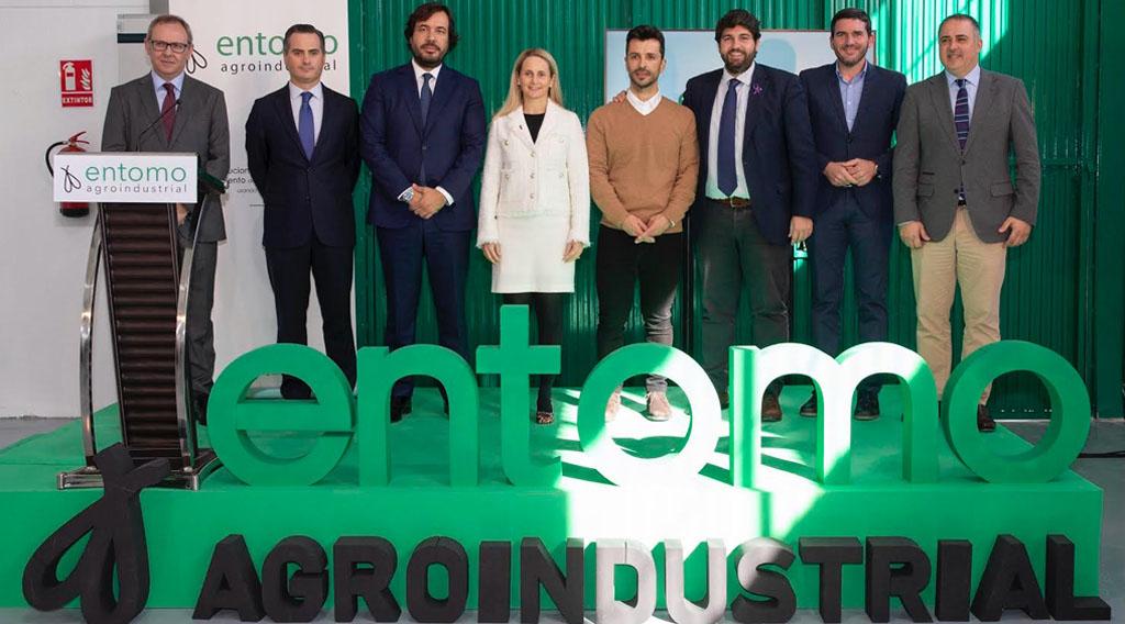 López Miras inaugura en Cehegín el Centro de Investigación de Ecología Industrial de la empresa Entomo Agroindustrial