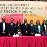 María Dolores Muñoz, primera mujer en ostentar el cargo de presidenta de la Federación de Municipios de la Región de Murcia