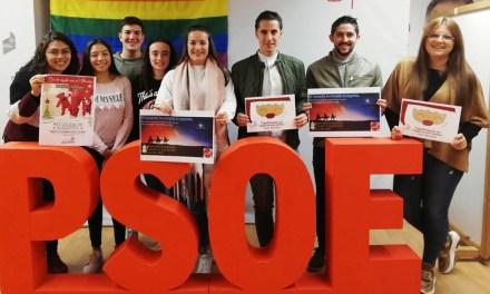 Juventudes Socialistas de Caravaca inicia una nueva campaña de recogida de juguetes