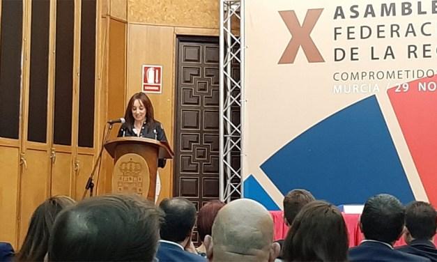 """María Dolores Muñoz, presidenta de la FMRM: """"Es un clamor entre todos los municipios el hecho de tener una financiación deficitaria"""""""