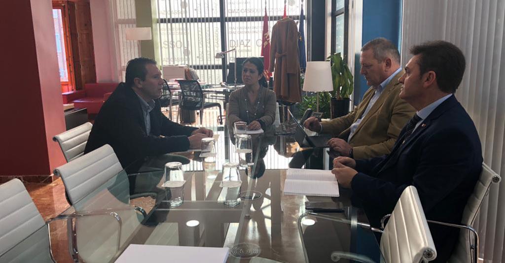 El Alcalde de Mula pide a la consejera Beatriz Ballesteros que se recupere el plan COPLA
