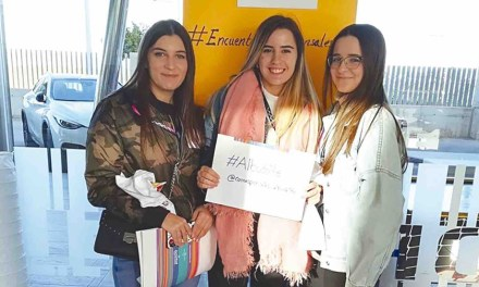 Natalia, Mª Jesús y Melisa son las nuevas corresponsales juveniles