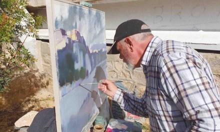 Miguel Sampedro gana el Concurso de Pintura Villa de Albudeite