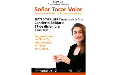 Clara Gil presentará en Caravaca su proyecto «Soñar, tocar, volar» el 27 de diciembre