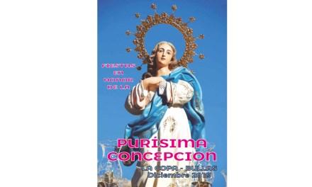 Del 5 al 8 de Diciembre La Copa celebra las fiestas en honor a la Purísima Concepción