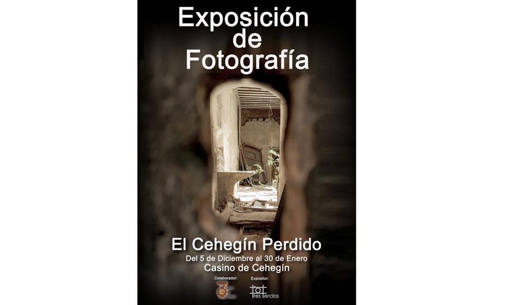 Una exposición fotográfica de Tres Tercios para concienciar sobre el patrimonio perdido del casco antiguo de Cehegín