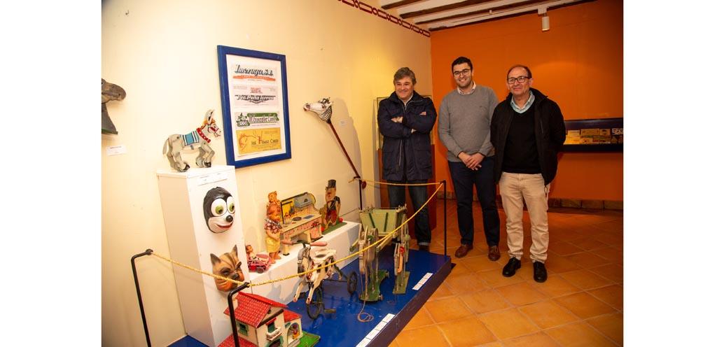 El Museo de la Fiesta muestra juguetes representativos del pasado siglo pertenecientes a la colección Carlos Fuentes Zambudio