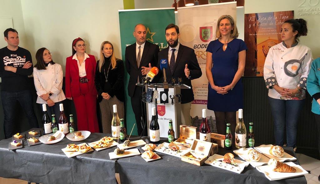 La Ruta de la Tapa de Cehegín celebra su XII edición con el impulso de la capitalidad gastronómica