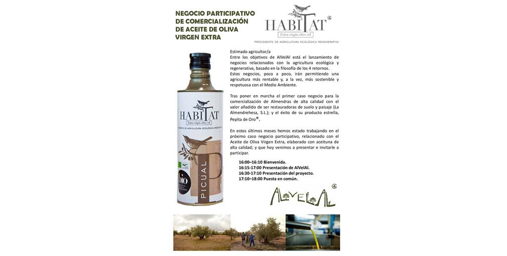 Caravaca acoge el próximo jueves una jornada sobre el modelo de negocio participativo aplicado a la producción de aceite de oliva