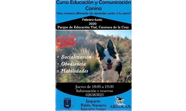 Abierto el plazo para participar en el I Curso de Educación y Comunicación Canina, promovido por la Concejalía de Protección Animal e impartido por la escuela 'Agrocán'