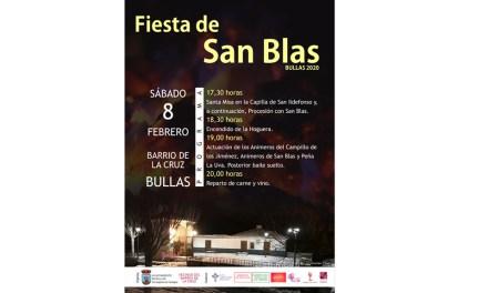 Este sábado se celebra en Bullas la Fiesta de San Blas
