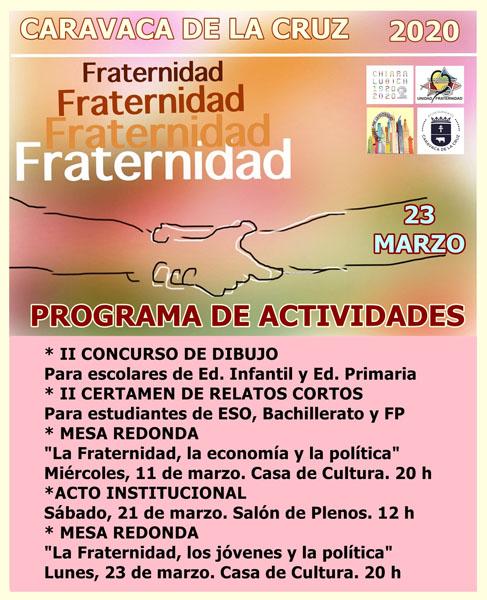 El Ayuntamiento de Caravaca y la asociación 'Unidad y Fraternidad' han preparado, de forma conjunta y consensuada con los grupos políticos municipales, un programa de actividades para el próximo mes de marzo