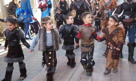Los escolares de Bullas celebran el Martes de Carnaval