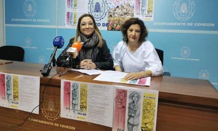 Cehegín celebrará el 8 de marzo, Día Internacional de la Mujer, con actividades enfocadas a la visibilización de la igualdad