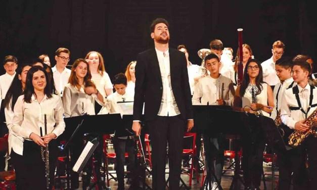 La Agrupación Musical de Pliego presenta a su nuevo director, Francisco Espín Soler