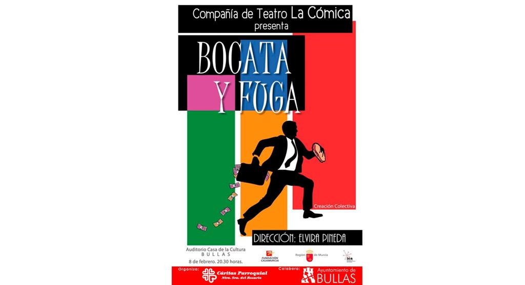 Este sábado en Bullas teatro a beneficio de Cáritas