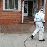 El Ayuntamiento de Bullas continúa diariamente con la desinfección de calles y zonas más conflictivas