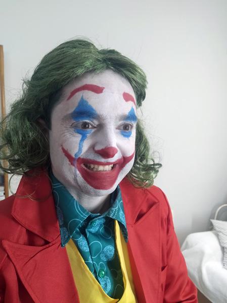 Eduardo Javier Llorente como el Joker
