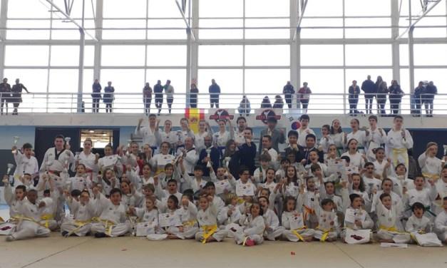 Examen de las escuelas de taekwondo de Moratalla y Cehegín