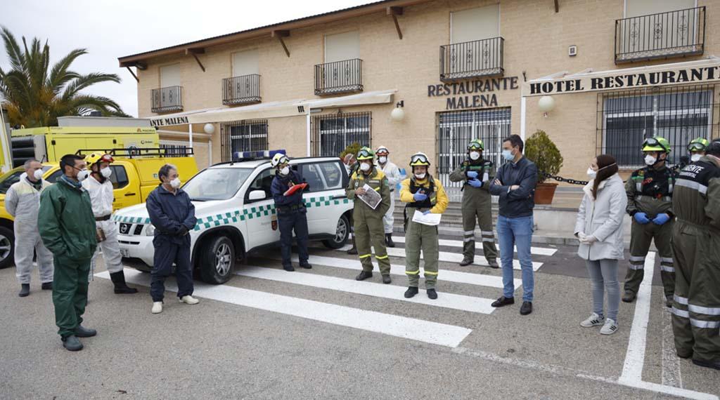 El Ayuntamiento de Caravaca coordina nuevas actuaciones dentro del plan especial para la contención y prevención del COVID-19