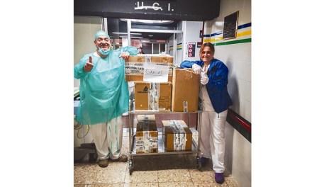 Grupo Buitrago dona monos especiales de protección para la UCI del HUVA