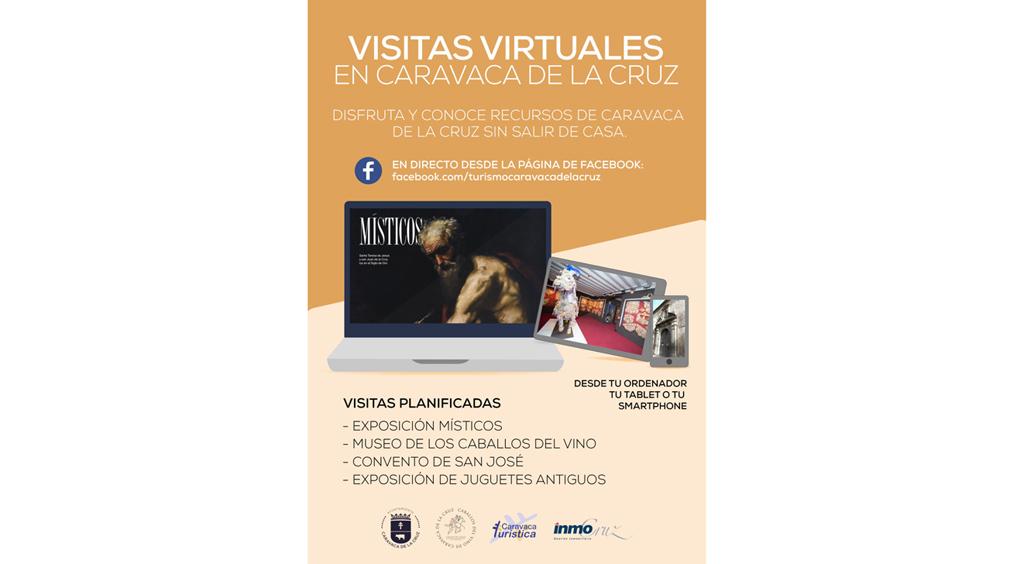 El Ayuntamiento de Caravaca lanza un programa de visitas virtuales guiadas a museos y exposiciones que se podrán seguir en directo por redes sociales