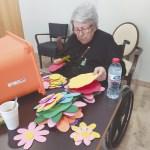 «Nuestros mayores hablan con sus familiares casi a diario a través de videollamadas», Residencia de Mayores Club de Campos