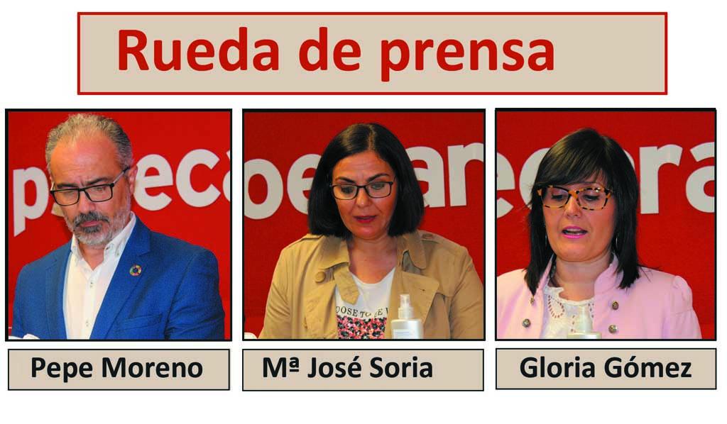 Los socialistas caravaqueños explican las mociones que llevarán al pleno del 25 de mayo