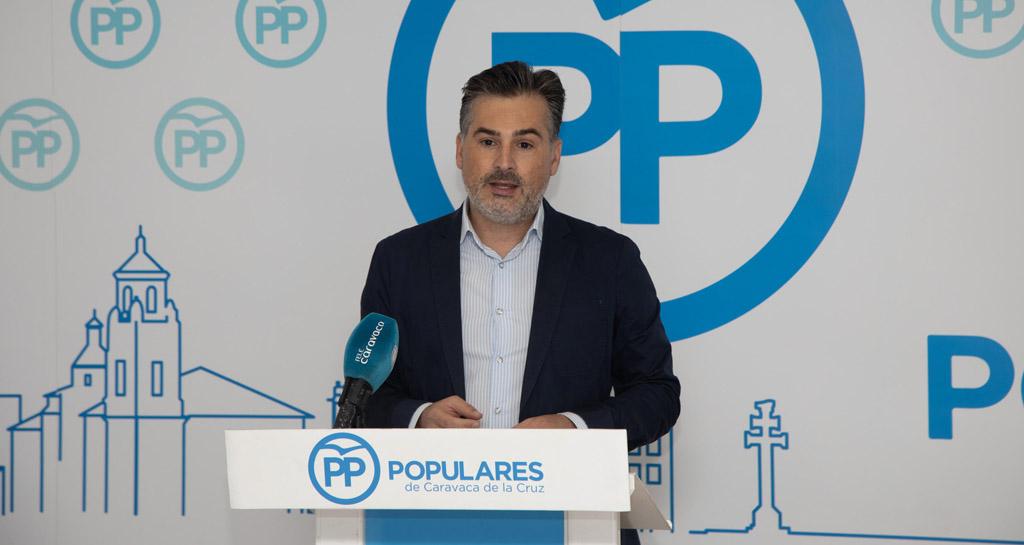 """Sergio López Barrancos: """"los socialistas de Caravaca parecen los portavoces del Gobierno de España más que concejales de nuestro municipio»"""