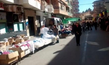 Cehegín reabre su mercadillo de los miércoles en una nueva ubicación, el Parque Ginés Ibáñéz