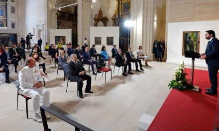 """López Miras: """"Las situaciones graves no admiten indiferencia sino unidad, compromiso y responsabilidad"""""""