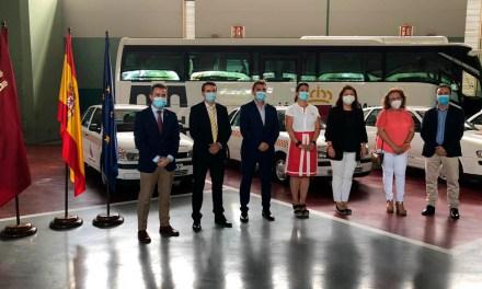 Las agrupaciones de voluntarios de Protección Civil de Albudeite, Lorquí, Aledo y Ojós contarán con nuevos vehículos cedidos por la Comunidad