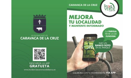 El Ayuntamiento de Caravaca implanta la 'Línea Verde' para que los vecinos envíen incidencias, reciban información sobre medioambiente y notificaciones en el móvil sobre servicios públicos