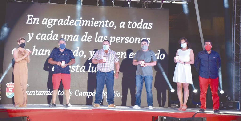Campos del Río reconoce la labor de diversos colectivos con los vecinos durante la crisis sanitaria