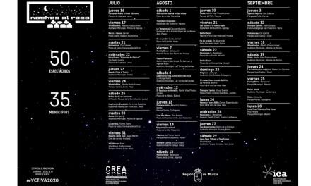 'Noches al raso' de Cultura cuenta esta semana con seis espectáculos en Caravaca de la Cruz, Lorca, Totana, Mula, Lorquí y Yecla